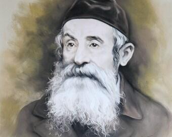 Portrait of an old Rabbi