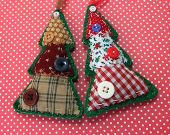 Americana Christmas Tree Ornament
