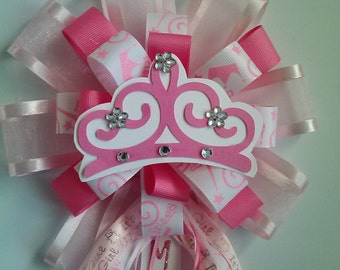 pink princess corsage