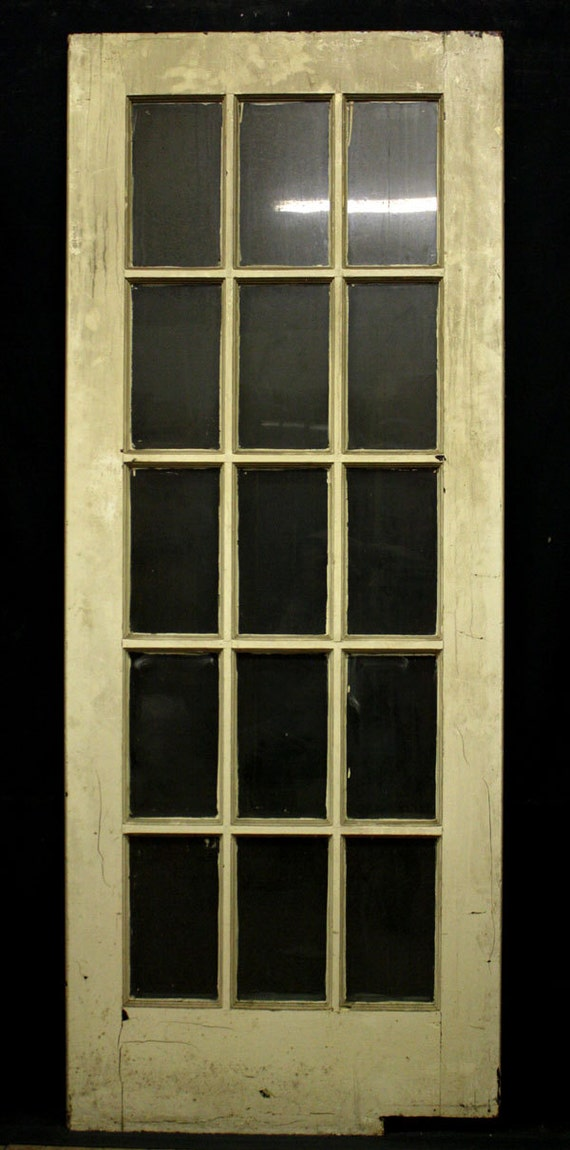 Antique french swinging solid wood - Swinging double doors interior ...