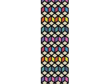 ZigZag Peyote Bracelet Cuff Pattern