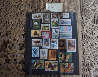 Old Stamp Collection