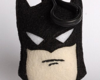 ON SALE! Classic Batman Plush backpack clip/ornament