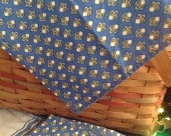 French Country Fleur De lis napkins set of four.