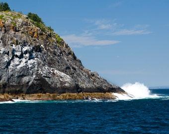 Landscape Photography - Coastal Cliff, Monhegan Island, Maine -  8x12