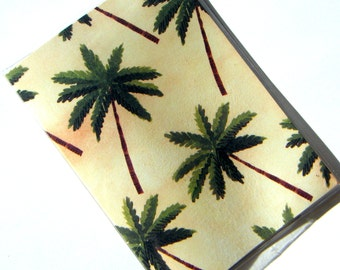 Passport Holder Cover Case -- Palm Trees