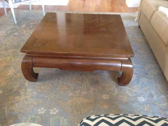 Reserved For Maria Ming Style Coffee Table Thomasville