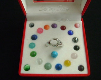 Popular Items For Interchangeable Ring On Etsy