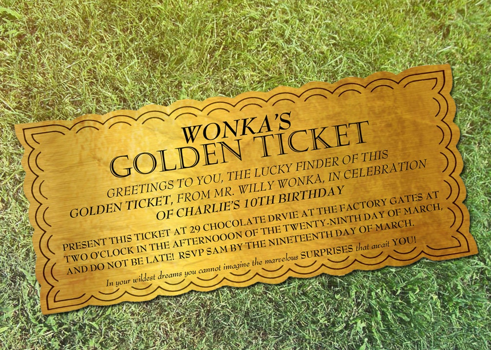 This is a graphic of Crush Wonka Golden Ticket Printable