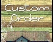 Custom listing for mrikaucki1
