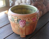 Large Weller Pottery Flemish Jardiniere, Arts and Crafts, Craftsman Style, Antique American Art Pottery, Cottage Chic