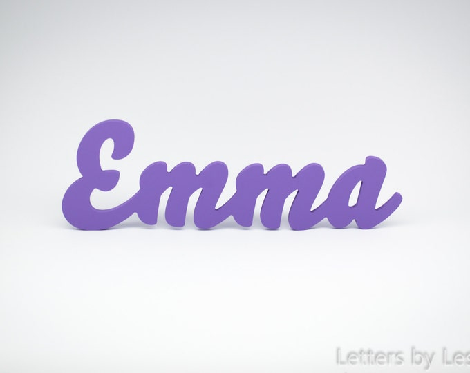 Custom Nursery wall Decor, Wooden name sign, Custom Children's Wall Names, Personalised Signs and Letters. Kids wall decor names.