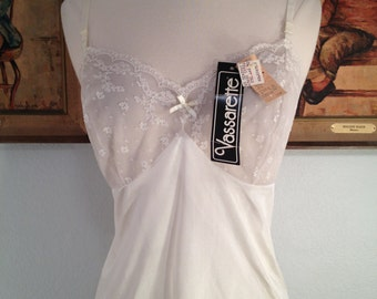 Dainty 1970s Camisole--Deadstock with Original Tags Still Attached