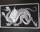 Large Dragon Back Patch