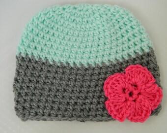 Crochet Child Hat-Girl
