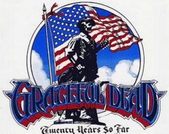 Grateful Dead Twenty Years So Far Sticker