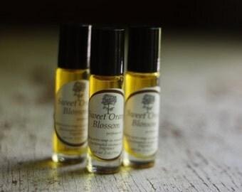 Sweet Orange Blossom Perfume Oil