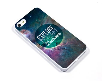 iPhone 5/5s iPhone 5c iPhone 6/6plus Samsung Galaxy S3 S4 S5 iPod touch 4th/5th Gen - explore space galaxy universe discover - p33