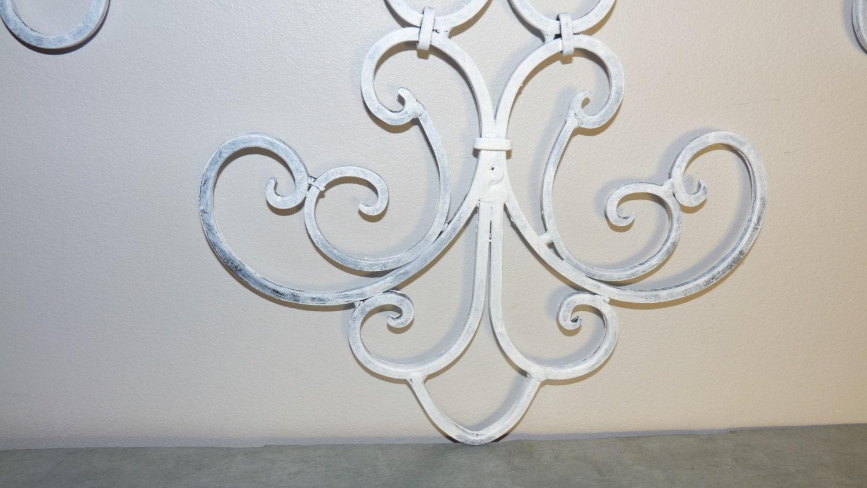Fleur De Lis Wrought Iron Wall Decor French Country Home