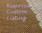 Reserved for Lynn - 2 cute heart shaped chalkboard place card or escort card