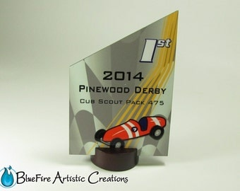 Custom Award Peak Personalized Trophy Recognition Plaque