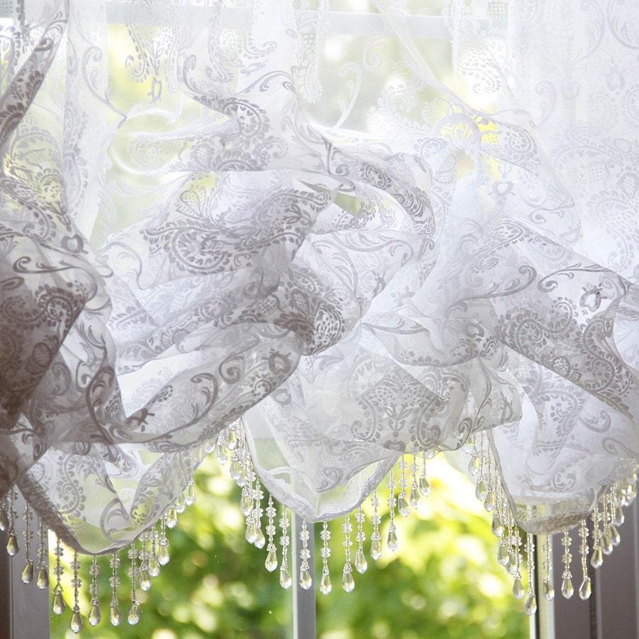 Sheer balloon curtains -  Zoom