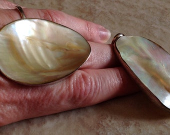 Sterling Silver And Shell Jewelry Set