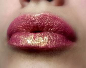 Summer Love - Holographic Peachy with Golden Shimmer Lipgloss
