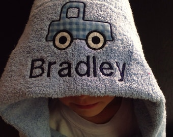 Kids Hooded Bath Towel - Personalized Gift