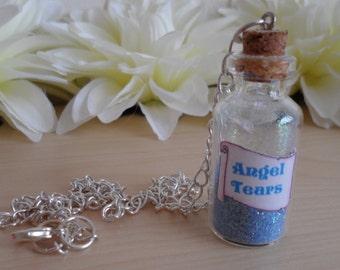 Angel Tears Bottle Necklace