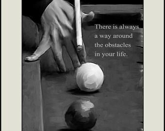 "8 X 10 Print of my original artwork ""Obstacles"""