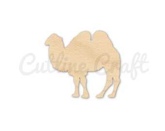 Camel Style 1629 Cutout Crafts, Gift Tags Ornaments Laser Cut Birch Wood Various Sizes