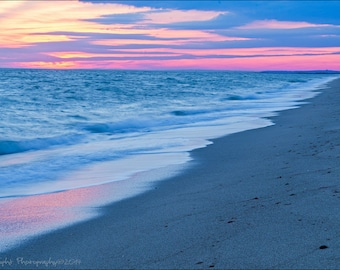 South Cape Beach Sunset Cape Cod Mashpee Dunes Wall Art Home Decor Wall Hanging
