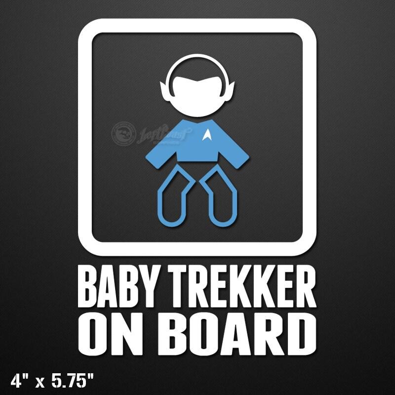 Baby Trekker On Board Custom Vinyl DecalSticker - Custom vinyl decals etsy