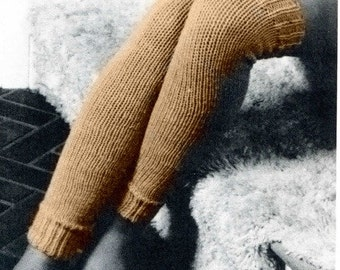 Classic Knit Leg Warmers Pattern