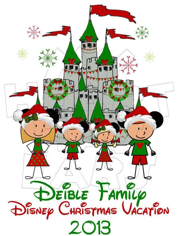 Disney World Vacation Clipart Printable diy christmas disney