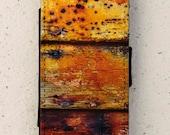 iphone 4, 5 or 6 case - flip case - paint - decay - wood -  cover - design - Galaxy S3, S3mini, S4, S4 mini, S5