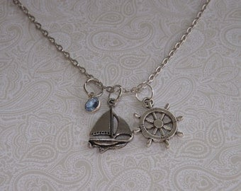 Personalized Sailor Necklace