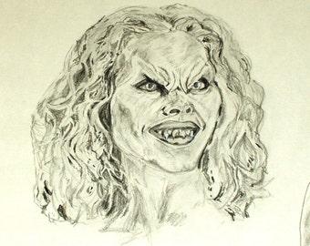 Darla Vampire Print