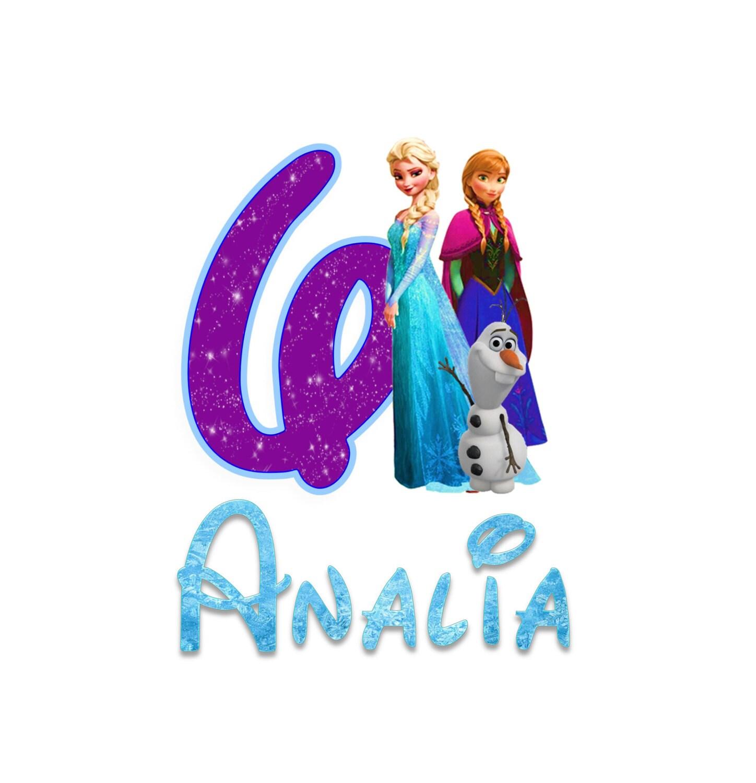 Disney Frozen Birthday Shirt Disney Font By Funfashionsetc