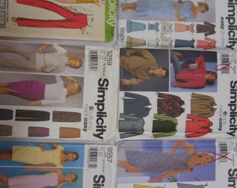 Sewing Patterns Simplicity 9416 Simplicity 5259 Simplicity 9557 Simplicity 5588 Simplicity 5331 Simplicity 5550