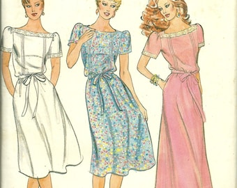 Butterick 4277 Womens Dress Size 16