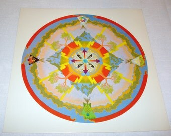 Poster/Print 1972 Native American Teepee