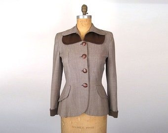 1940s Cotton Jacket