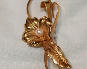Chic  Signed Brooch