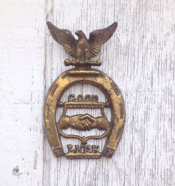 Good Luck Horseshoe Wall Hanging By Sickcityco On Etsy
