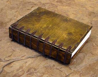 "6"" x 8"" x 1 1/2"" Forrest Green Blank Book"