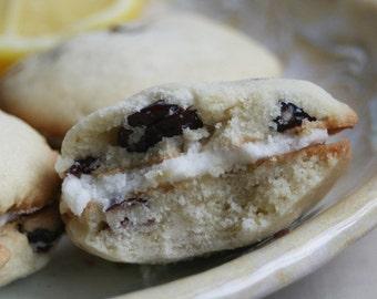 Cranberry Lemon Sandwich Cookies (ONE DOZEN)