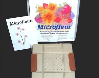 "Microfleur 5"" (13cm) Microwave Flower Press"