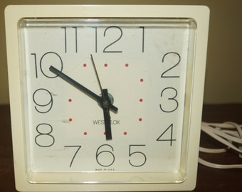 Retro Westclox Clock